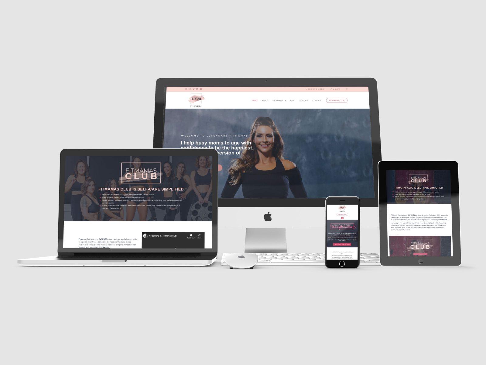 LFM WebsiteMockup