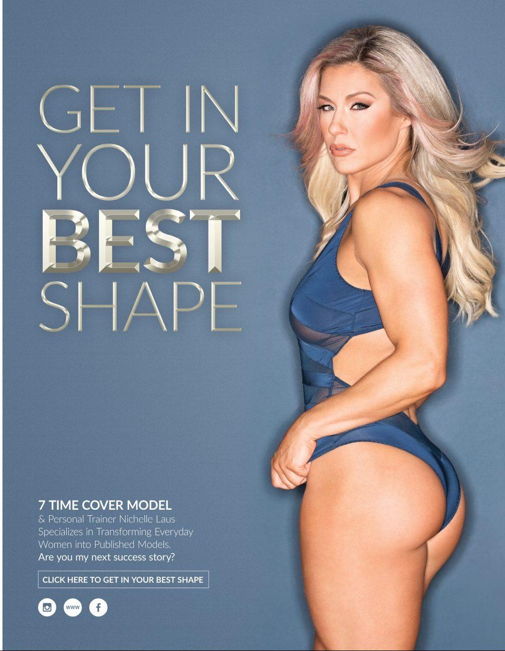 Nichelle Laus Maxim Canada Ad