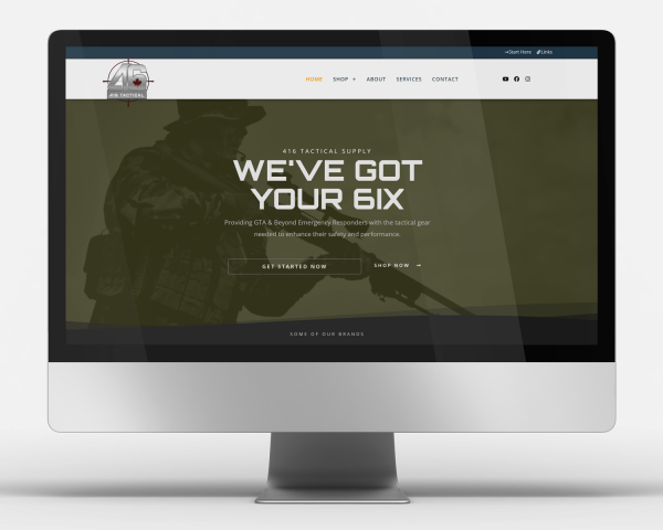 One Day Website - 416 Tactical